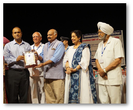 FHM felicitated by CSCA