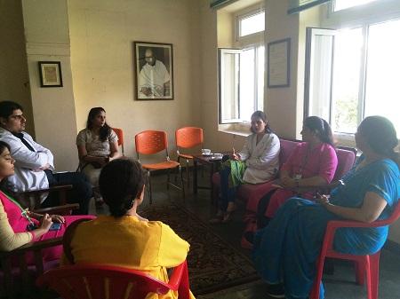 Jagriti session on Oral health