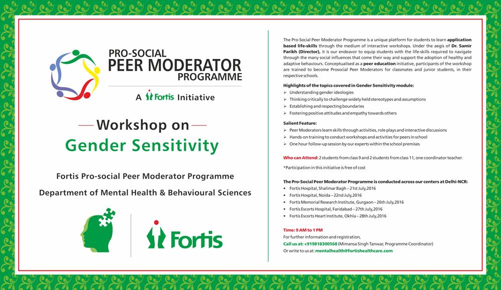 Gender sensitivity activities for students