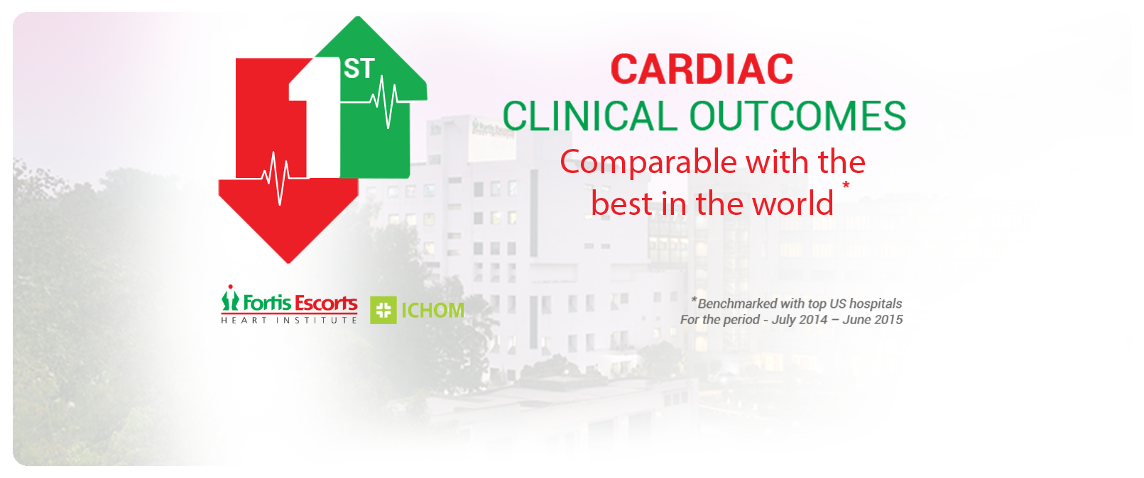 Clinical outcomes banner
