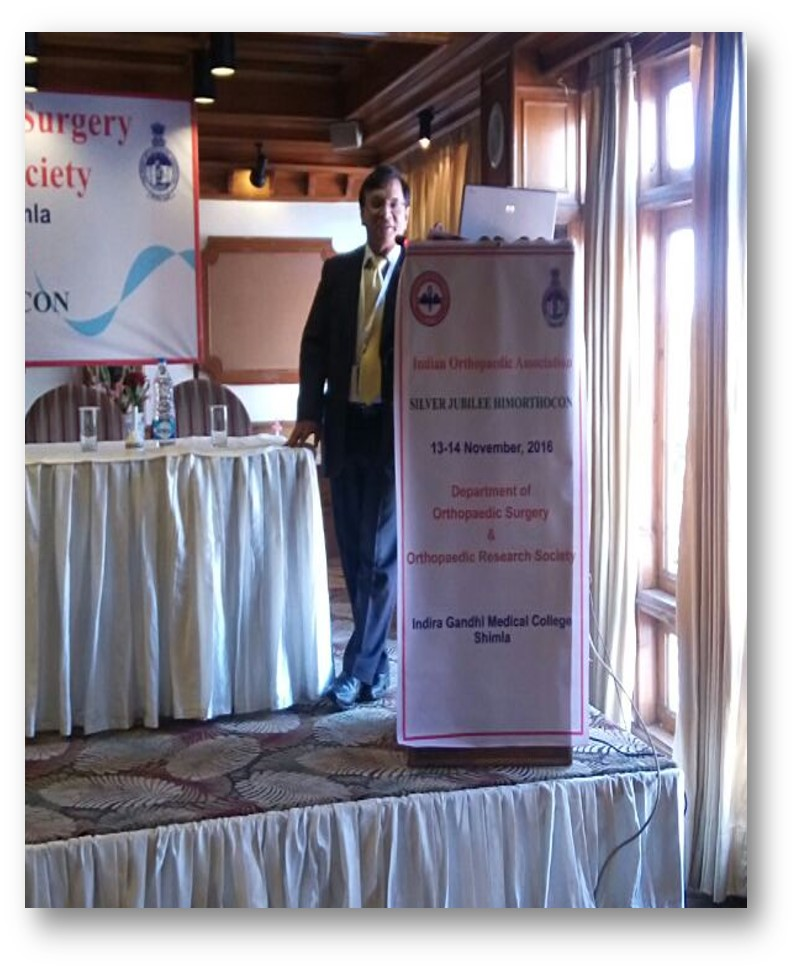 Osteoporotic Fractures CME in Shimla