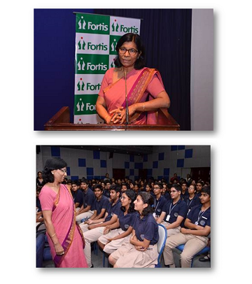 Session on Self esteem for students by Dr Savita Malhotra